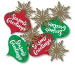 SEASONS GREETINGS TABLESCATTER