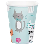 Purr-Fect Party 9 Ounce Cups