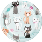 Purr-Fect Party 7 Inch Plate