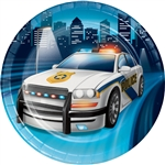 Police Party 7 Inch Plates