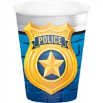 Police Party 9 Ounce Cups