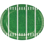 Football Party Oval Platters