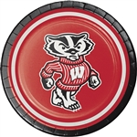Wisconsin Badgers 7 Inch Plates