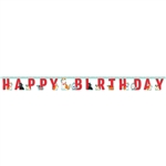 Dog Party Birthday Banner
