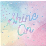 Iridescent Shine Beverage Napkins