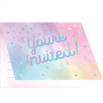 Iridescent Invitations