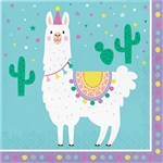 Llama Party Luncheon Napkins