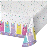 Llama Party Table Cover