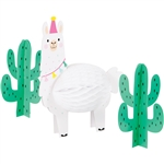 Llama Party Centerpiece
