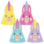 Llama Party Hats