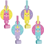 Llama Party Blowouts