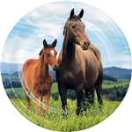 Horse And Pony 7 Inch Plates