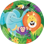 Jungle Safari 9 Inch Plates