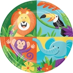 Jungle Safari 7 Inch Plates