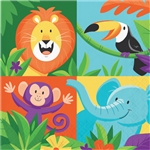Jungle Safari Luncheon Napkins