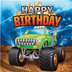 Monster Truck Birthday Luncheon Napkins