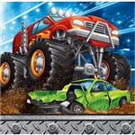 Monster Trucks Beverage Napkins