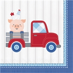 Farmhouse 1st Boy Luncheon Napkins