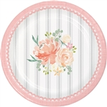 Farmhouse Wedding 7 Inch Plates