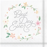 Farmhouse Wedding Luncheon Napkins