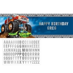Monster Trucks Giant Banner