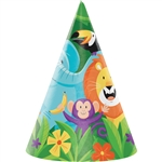Jungle Safari Cone Hats