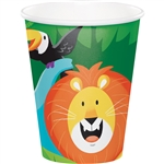 Jungle Safari 9 Oz Cups