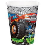 Monster Trucks 9 Oz Cups