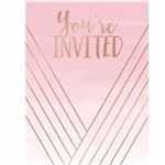 Rose All Day Invitations