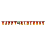 Monster Trucks Birthday Jointed Banner