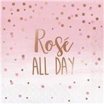 Rose All Day Rose Luncheon Napkins