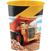 Big Dig Construction 16 Oz Favor Cup