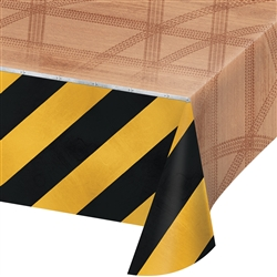 Big Dig Construction Party Table Cover