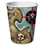 Pirate's Map 9oz Cups