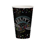 Chalk Birthday 12oz Cups