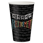 Retirement Chalk 12oz Cups