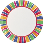 Party Dots 9in Dinner Plates