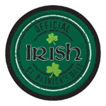 Officially Irish St Patrick's Day 9in Plates