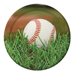 Baseball Sports Fanatic 9 inch Dinner Plates