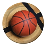 Basketball Sports Fanatic 9 inch Dinner Plates