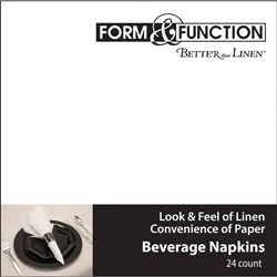 Better than Linen White Beverage Napkins