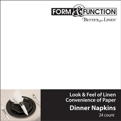 Better than Linen White Dinner Napkins