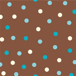 AQUA DOTS BEVERAGE NAPKINS