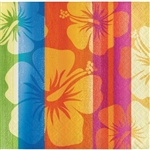 SUNSET STRIPES MID COUNT BEVERAGE NAPKINS