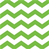 Lime Green Chevron/Dots Beverage Napkins