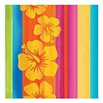 SUNSET STRIPES MID COUNT LUNCHEON NAPKINS