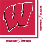 BADGERS LUNCHEON NAPKINS