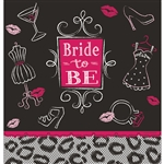 Bridal Bash Plastic Table Cover