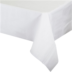 "Better than Linenâ""¢ White Tablecover"