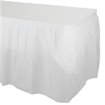 Better than Linen White Tableskirt
